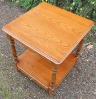 Two Tier Cherry Wood Coffee Table by Younger